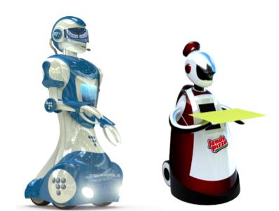 Render y diseños exclusivos robots